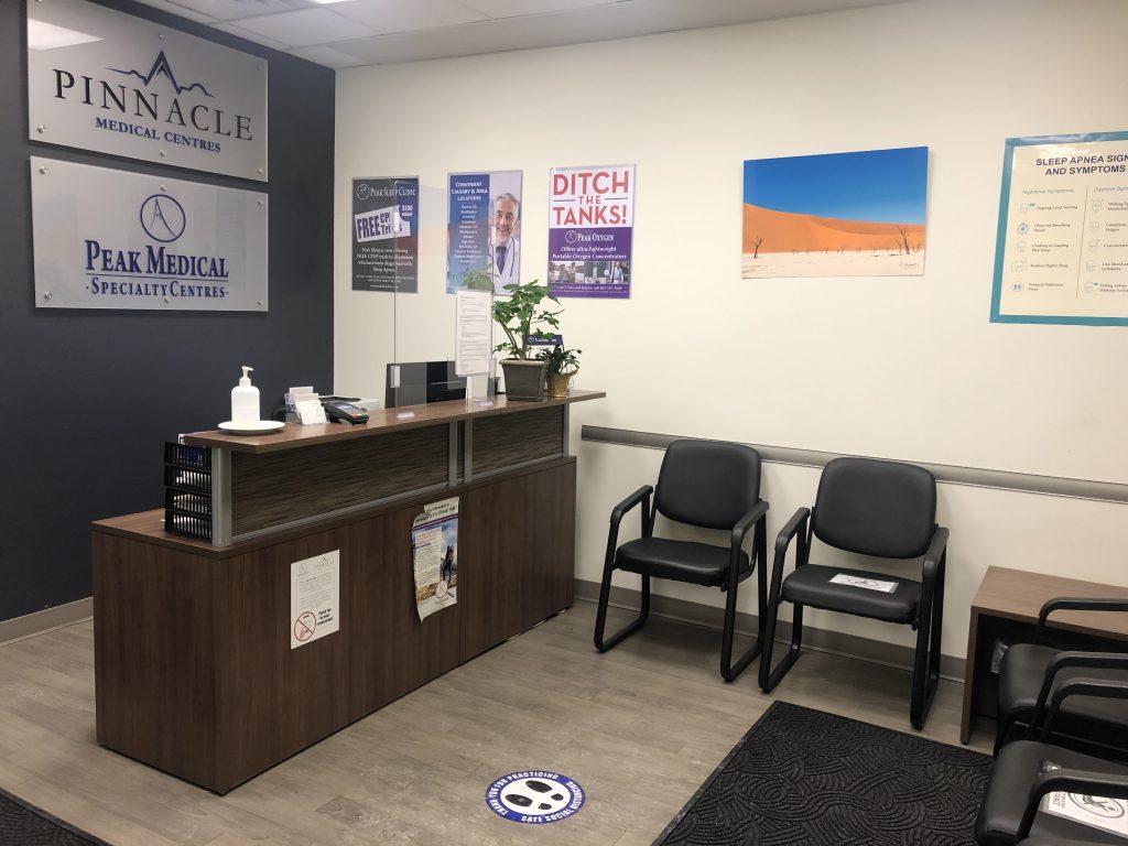 peak sleep clinic office calgary