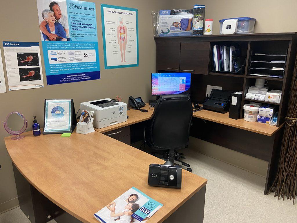peak sleep clinic red deer doctors office