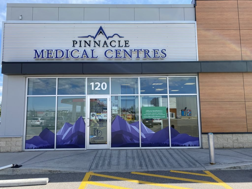 Peak Sleep Clinic Strathmore Business Front View