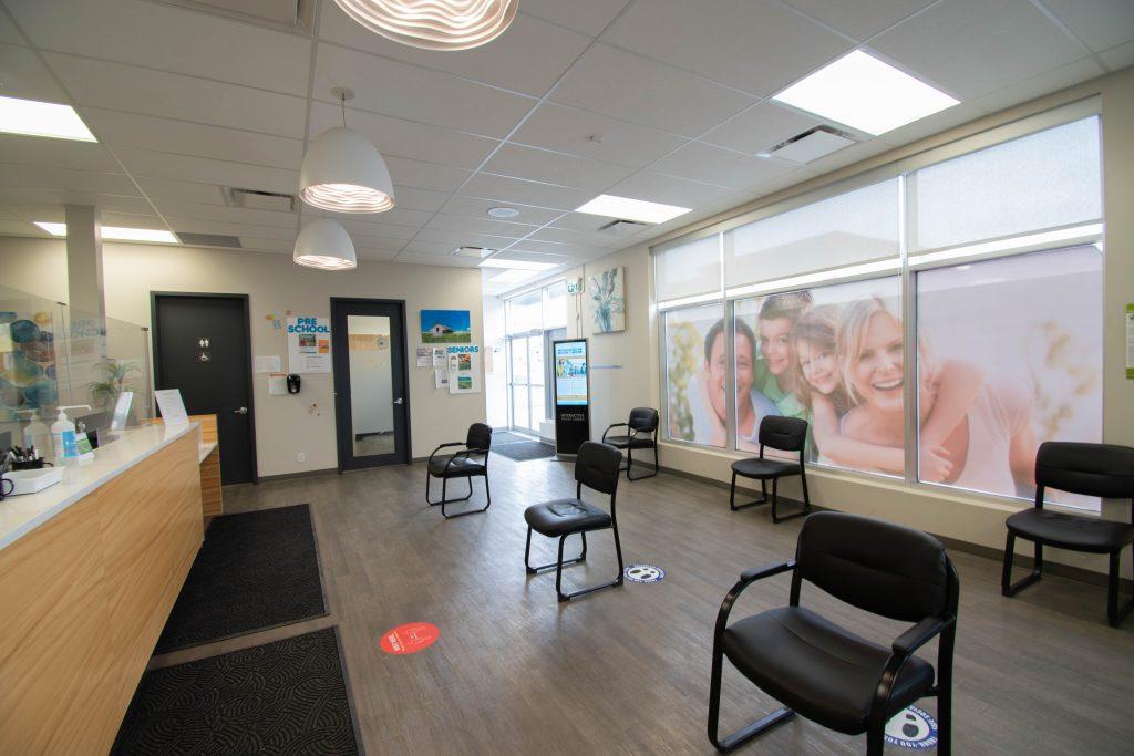 Peak sleep clinic okotoks westmount waiting area