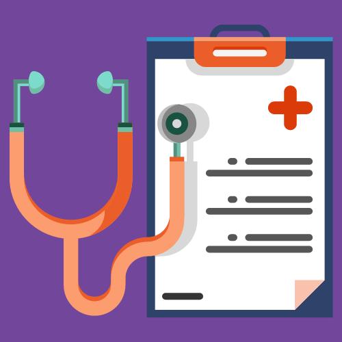 medical clip board icon