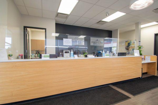 peak sleep clinic okotoks westmount front reception desk